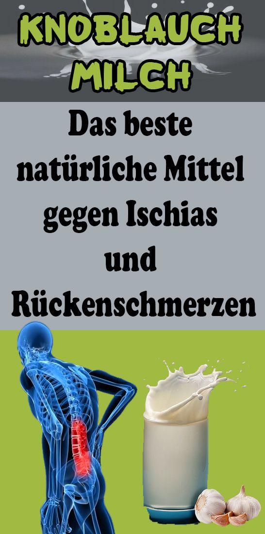 Knoblauchmilch: Das beste natürliche Mittel gegen Ischias und Rückenschmerzen – Hermine Muller