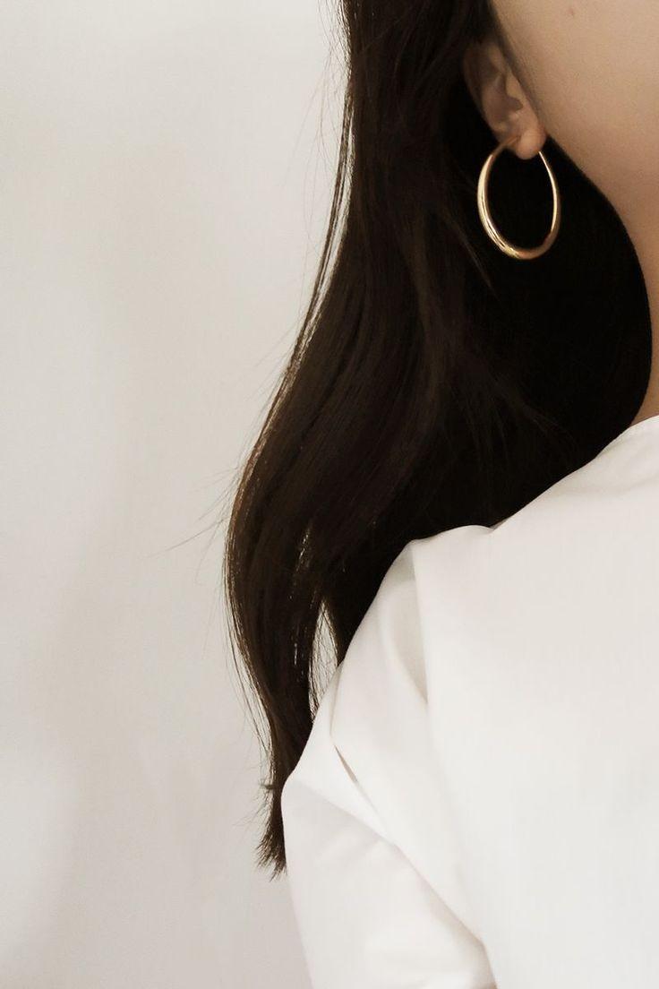 Tilda hoop earring by Common Muse