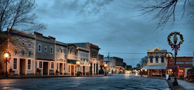 Only in Arkansas Photo of the Week: Searcy Courthouse Square