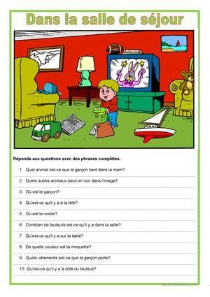 Les élèves doivent regarder l'image et répondre aux questions avec des phrases complètes.Si vous aimez cette fiche, vous pouvez en trouver d'autres descriptions ici :https://fr.islcollective.com/mypage/my-creations?search_key=Description+d&type=printables&option=published&id=5163&grammar=&vocabulary=&materials=&levels=&studentTypes=&skills=&languageExams=&dialect=&am...