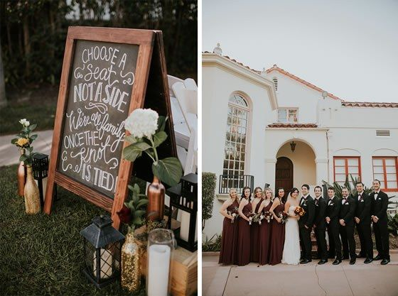 This California Mansion Wedding At Sunset Was The Definition Of Romantic Colettes Events Orange County