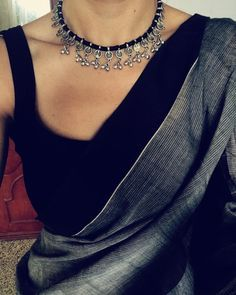 necklace for sarees
