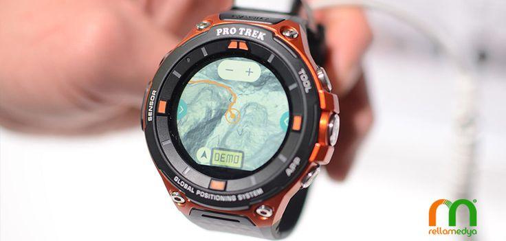 Casio'dan yeni bir akıllı saat daha Devamı; http://www.rellablog.com/casiodan-yeni-bir-akilli-saat-daha/ #Rellamedya #Teknoloji #Casio