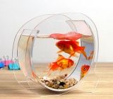 Transparent acrylic round fish tank FTK-017