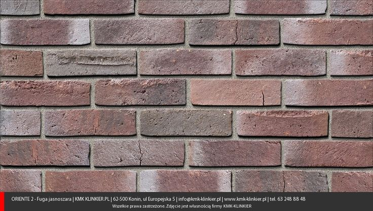 Oriente II - Cegły ręcznie formowane