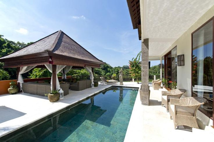 Luxury dream villa - Pool at Sahaja Sawah, Bali, Indonesia
