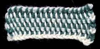 La technique du crochet tunisien