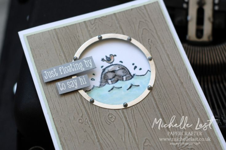 Cute Walrus from Stampin' Up! – Stampin' Up! UK Top Demonstrator