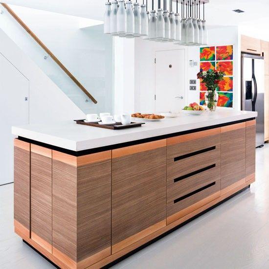 Kitchen Unit Lighting Ideas: Kitchen Island Ideas With Seating
