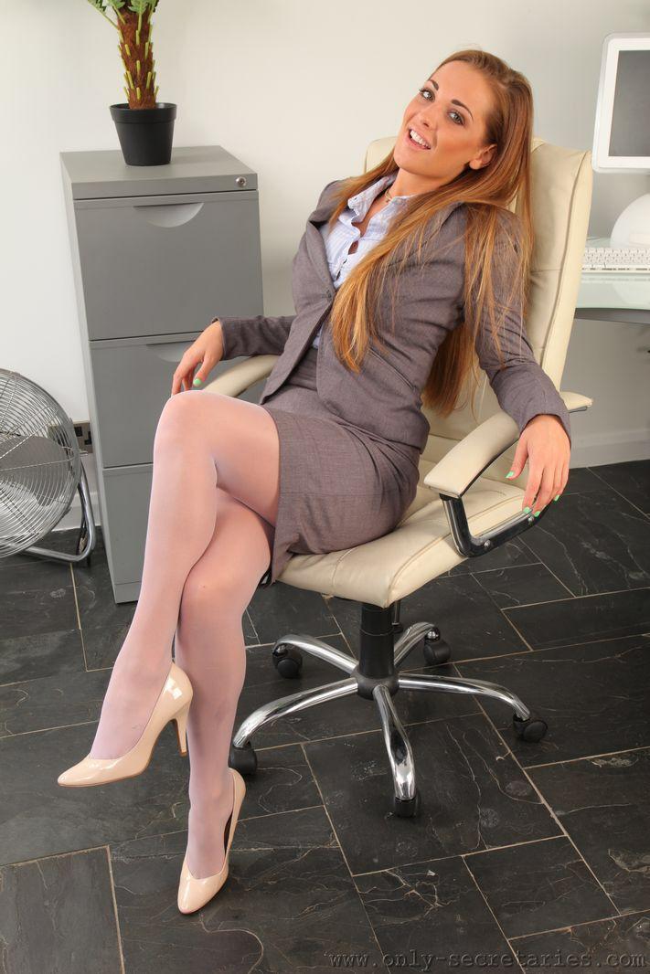 Nylon Office Pantyhose 2