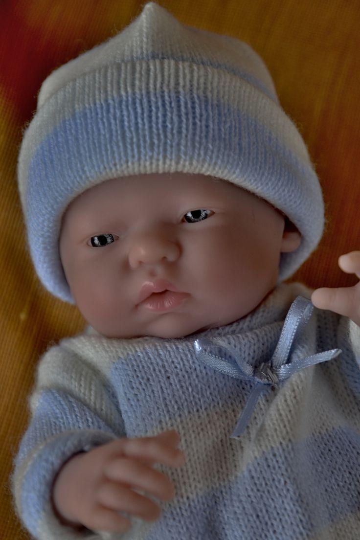 """Realistické mini miminko - chlapeček Tobík, který  """"přemýšlí"""""""