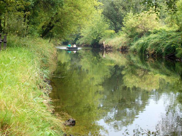 Tam gdzie świeci słońce...: Bałtowski Park Jurajski - spływ rzeką Kamienną