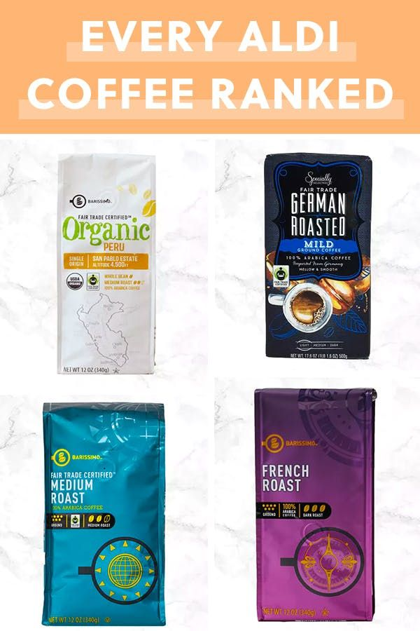 We Tried Every Aldi Coffee And Found The 5 Best Oh And They Re