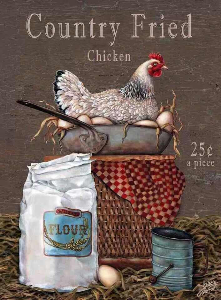23 best Animals Chickens Roosters Paintings and Images