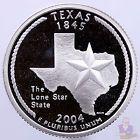 2004 S State Quarter Texas Gem Proof Deep Cameo 90% Silver US Coin