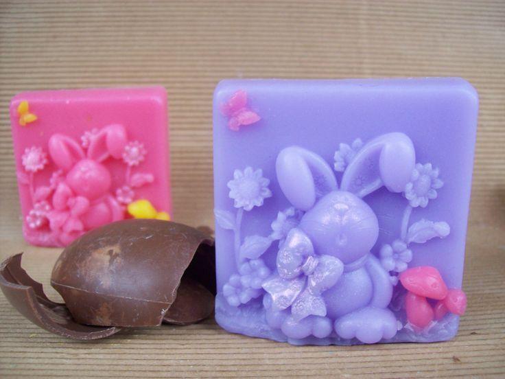 Bunny soap!