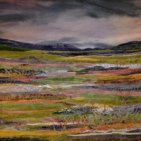 Judith Reece - textile artist - An Icy Morning