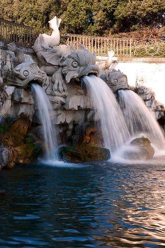 Caserta Fountain | by Jay's Flickr Photos. Campania.