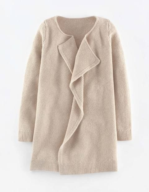 Relaxed Stitch Coatigan WU021 Cardigans at Boden