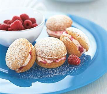 Raspberry Powder Puffs