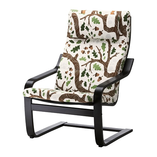 "Pefect ""nursing"" chair to add to the enchanted forest theme, and unlike a normal glider, we will be able to leave it in the seating area after the baby moves rooms. Of course, the seat cushion will have to be changed."