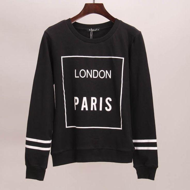 Moletom Estampa LONDON PARIS