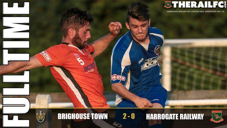 FT: Brighouse Town 2-0 Harrogate Railway    @therailfc @brighousetown @edwhite2507