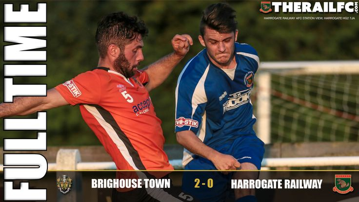FT: Brighouse Town 2-0 Harrogate Railway    @therailfc @brighousetown @edwhite2507