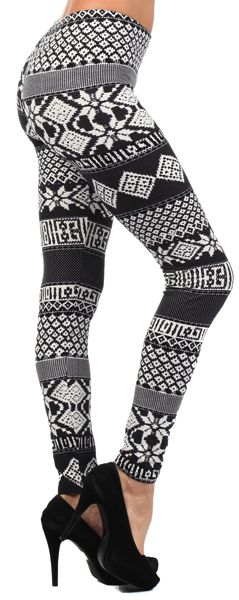 Tribal/abstract leggings