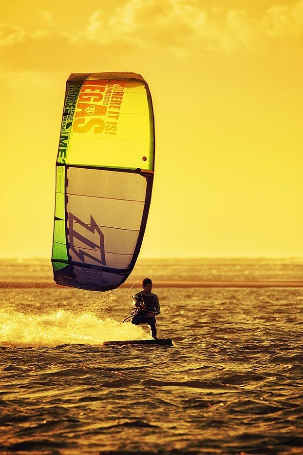 #Kitesurfing I've  always wanted to try this. I'm most likely going to die when I do try but hey, at least I'll go out in style.