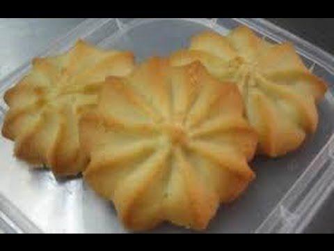 como hacer galletas de mantequilla, receta de PASTISETAS, receta #95, recetas de postres - YouTube