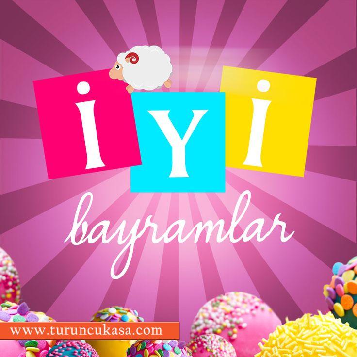 Bayramınızı en en en coşkulu haliyle geçirmenizi dileriz! İYİ BAYRAMLAR...♡♡♡ #bayram #kurbanbayramı #tatil #kutlama #coşku #şeker #renkli #colors #iyibayramlar #feast #sugar #holiday #turuncu