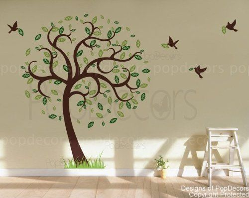 Best Trees Images On Pinterest Tree Murals Kids Rooms And - Portal 2 wall decalsbest wall decals images on pinterest