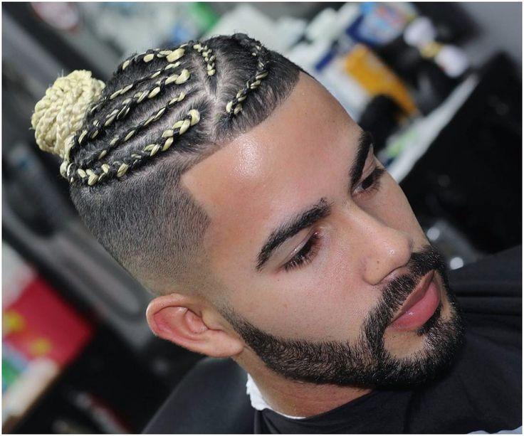 Www 99wtf Net 99wtf Www99wtfnet Braided Man Bun Mens Braids Hairstyles Braids With Fade