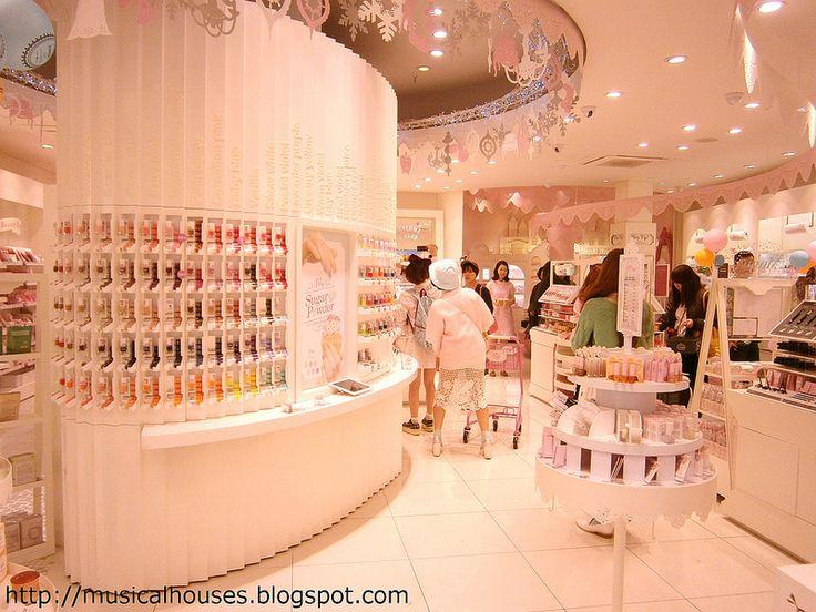 Etude House Flagship Store Interior Retail Design