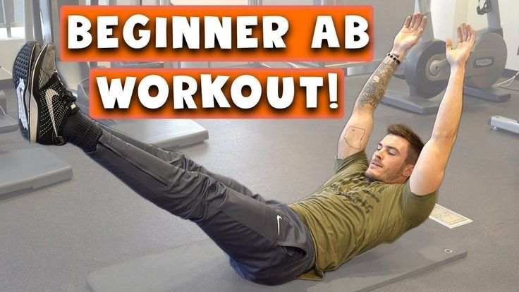 Beginner Ab Workout for Men and Women | 5 Easy Six Pack Abs Exercises #absworkou…