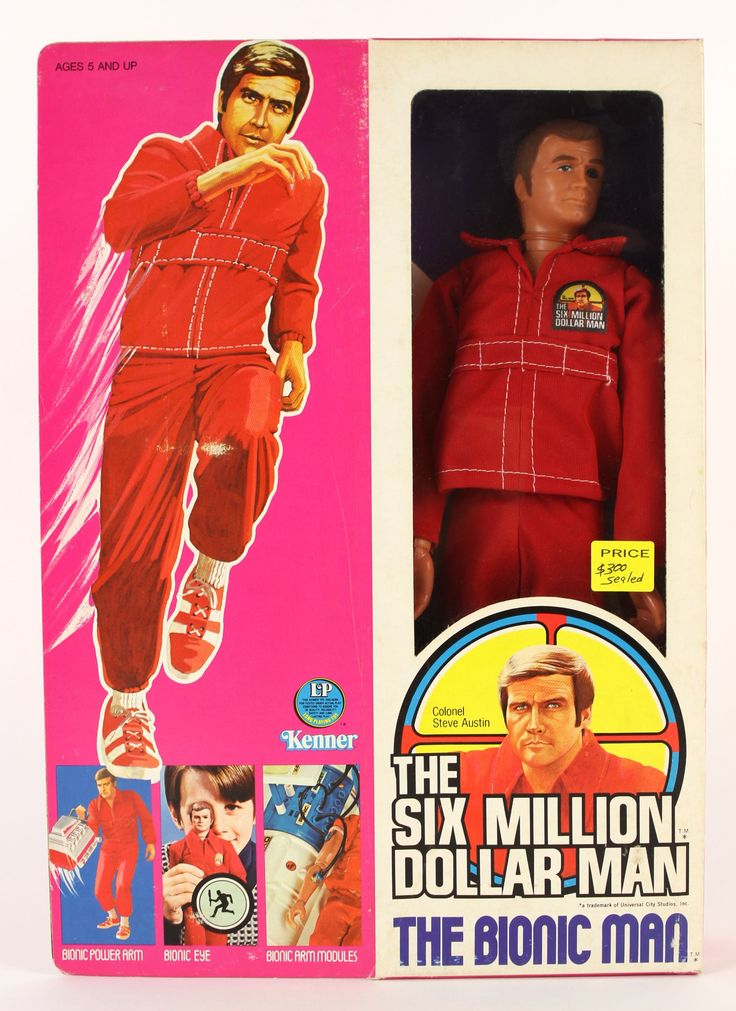 Bionic man toys foot action
