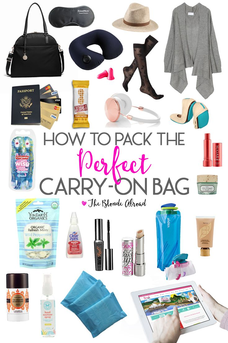 Perfect Carry-On Packing Guide