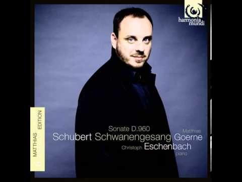 Schubert: Die Stadt (from Schwanengesang D. 957) - Matthias Goerne & Chr...