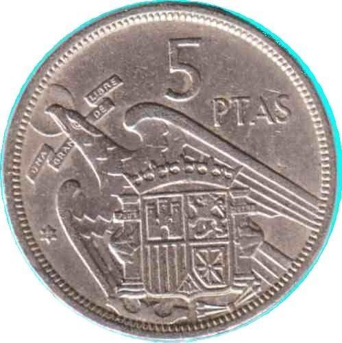 """Los """"duros"""" o 5 pesetas ... con gallina incluida"""