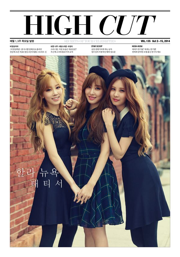 "TaeTiSeo Talks Girls' Generation and ""Holler"" in Latest Pictorial for High Cut"