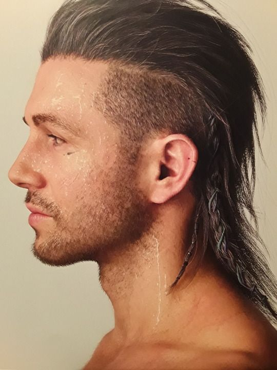 Nyx Ulric  Final Fantasy XV in 2019  Hair beard styles Hair cuts Mullet hairstyle