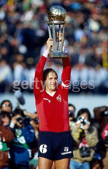 1984 - Enzo Trossero - Campeon Intercontinental 1984 Tokyo - versus Liverpool de Inglaterra.