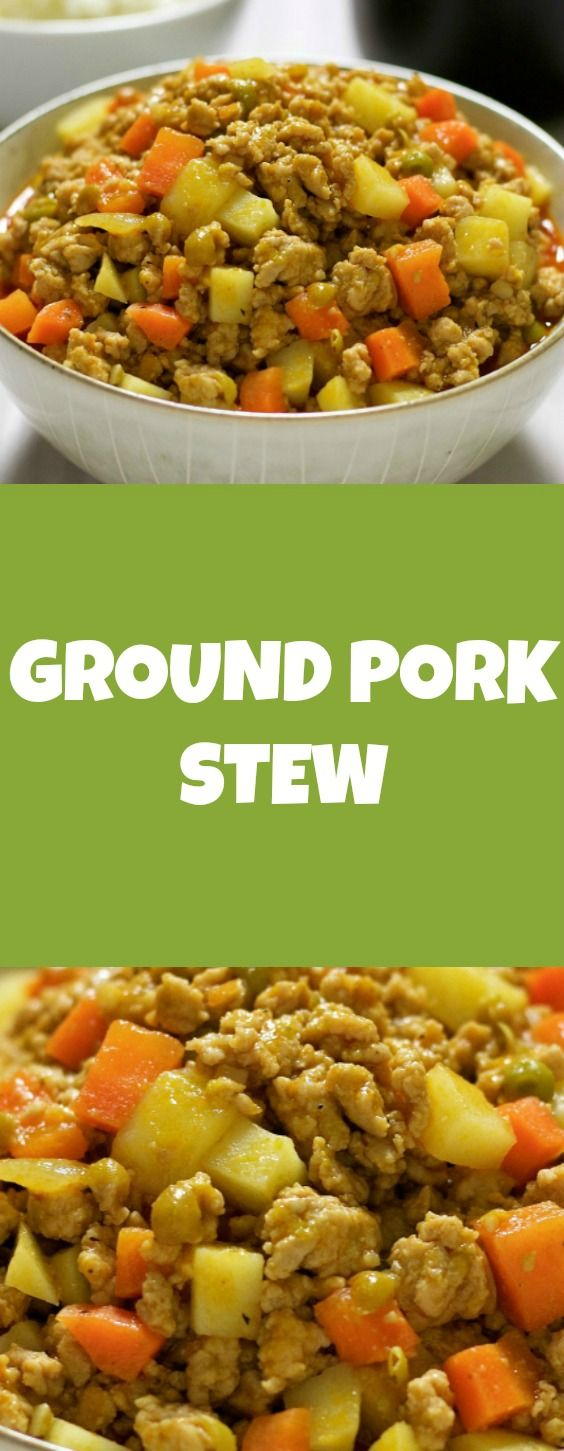 This pork giniling recipe is delicious and easy to prepare. The way this is cooked is very similar to a pork menudo, afritada, and mechado which all involve tomato sauce.…