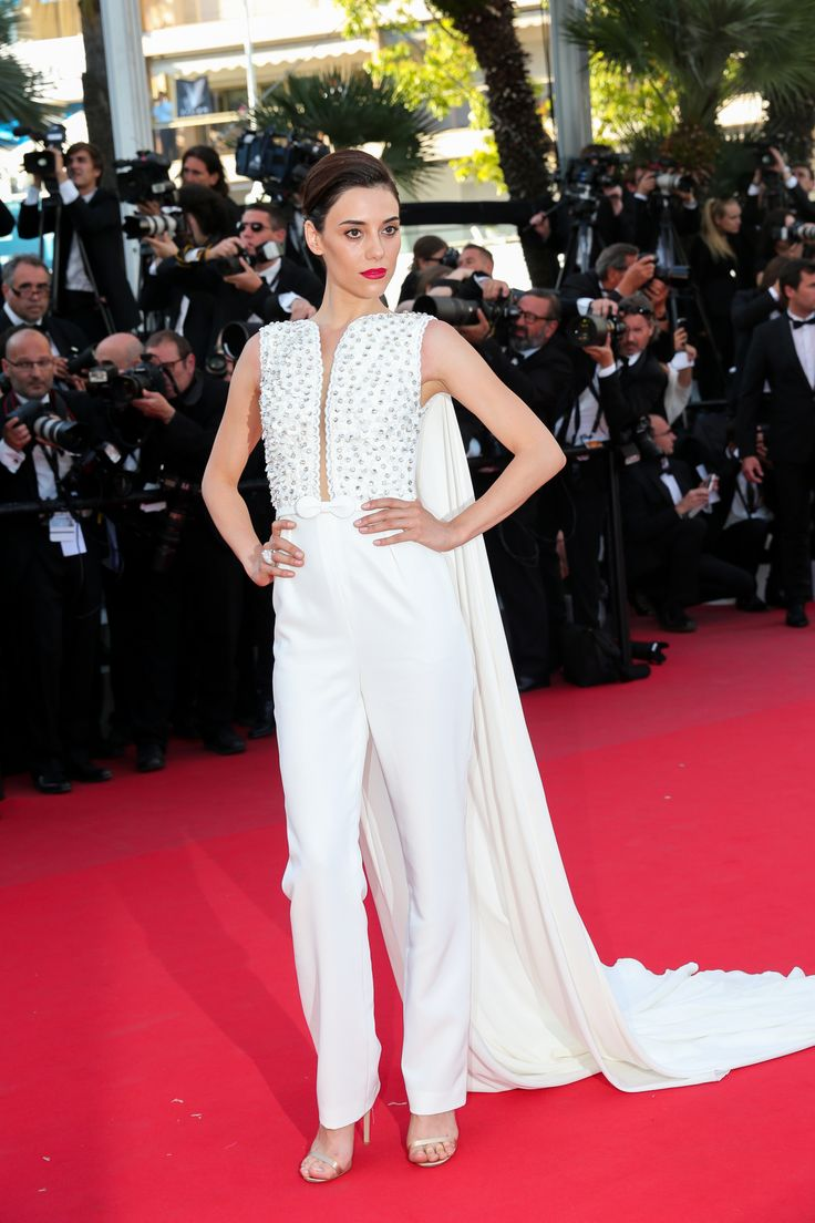 """Cansu Dere attends the Premiere of """"Inside Out"""" during the 68th annual Cannes Film Festival on May 18, 2015 in Cannes, France"""