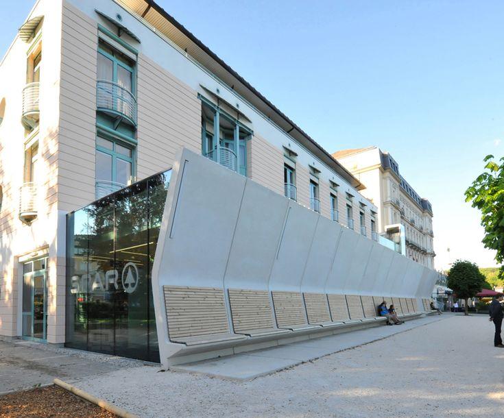 High End Spar Supermarket Faux Pli By Austrian Architects Archinauten