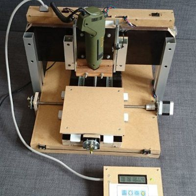 Desktop size CNC milling machine from scratch