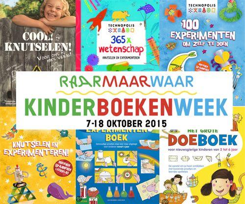 Kinderboekenweek 2015 heeft als thema Raar maar waar! Bekijk hier de leukste boeken boordevol experimenten, knutselideeen en trucs!