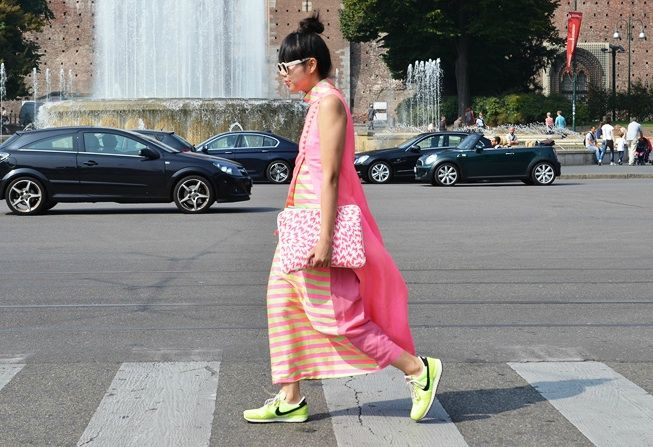 stylebubble: Style Bubbles, Nike Trainers, Susi Lau, Street Style, Nike Shoes, Nike Sneakers, Sneakers Style, Neon Nike, Susi Bubbles