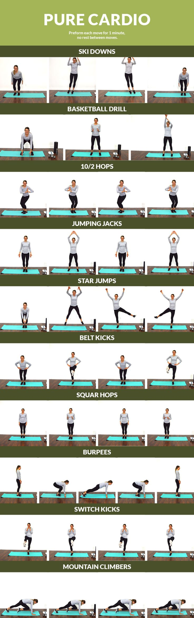 Pure Cardio Workout - Sweat it out with this cardio blast!